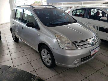 Foto numero 0 do veiculo Nissan Livina S 1.6 - Prata - 2011/2012