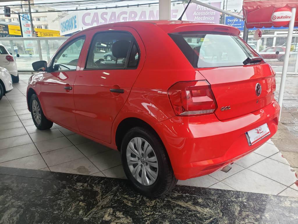 Foto numero 3 do veiculo Volkswagen Gol TL MBV - Vermelha - 2018/2018
