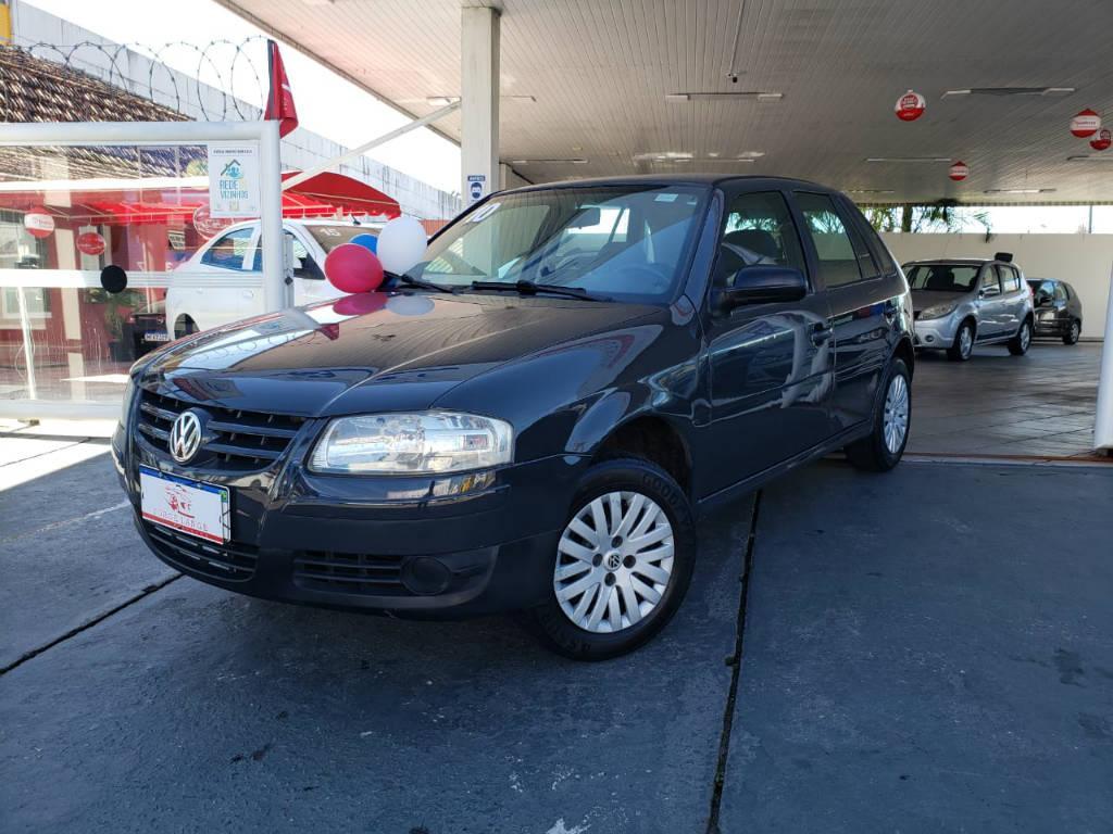 Foto numero 2 do veiculo Volkswagen Gol GOL 1.0 GIV - Cinza - 2009/2010