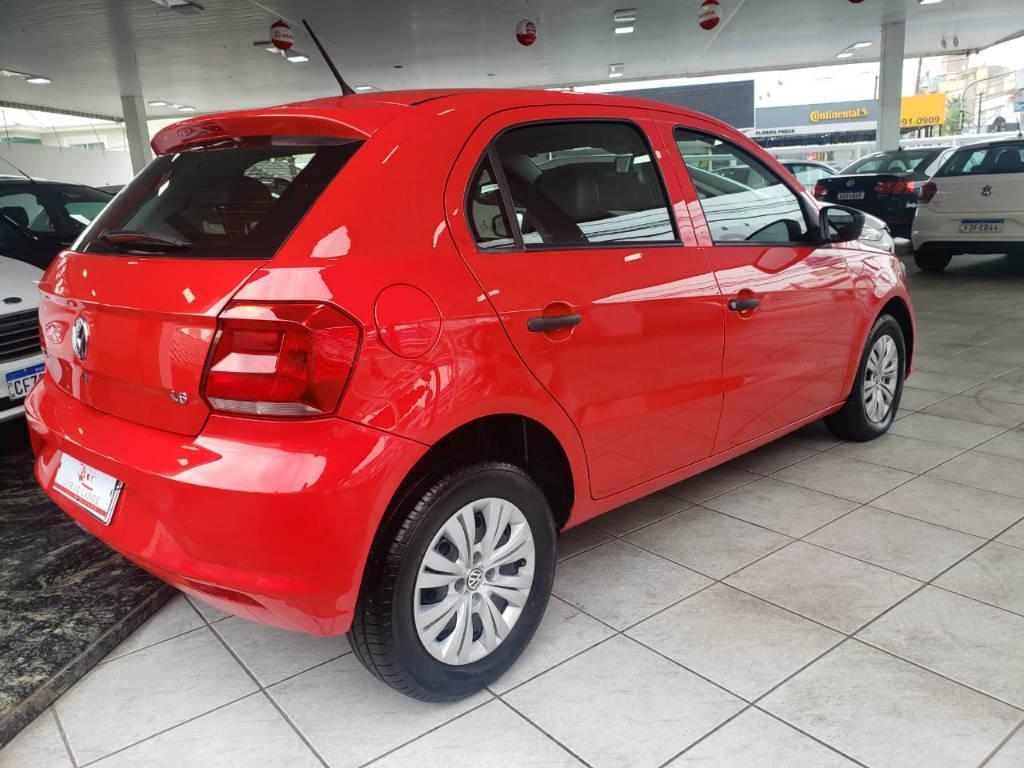 Foto numero 4 do veiculo Volkswagen Gol TL MBV - Vermelha - 2018/2018
