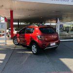 Foto numero 4 do veiculo Renault Sandero STEPWAY 1.6 - Vermelha - 2014/2015