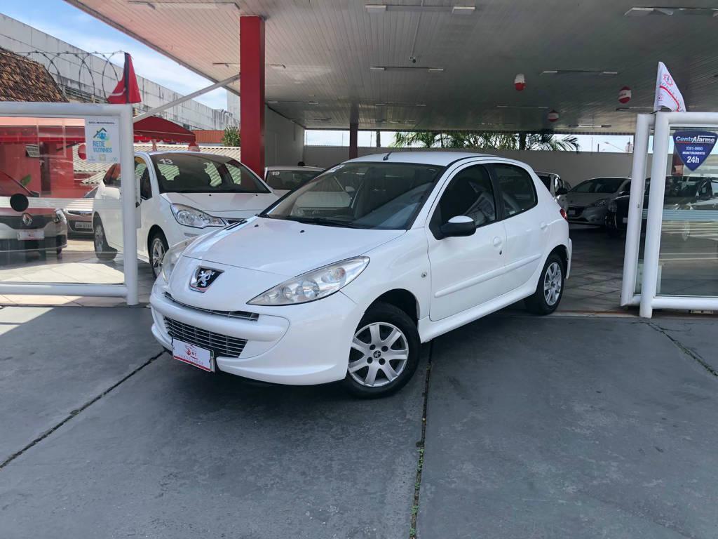 Foto numero 3 do veiculo Peugeot 207 207 HB XR - Branca - 2011/2012